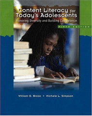 Content Literacy For Today's Adolescents