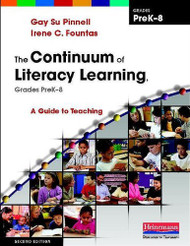 Continuum Of Literacy Learning Grades Prek-8