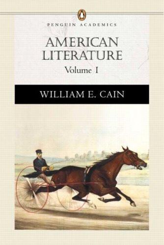 American Literature Volume 1