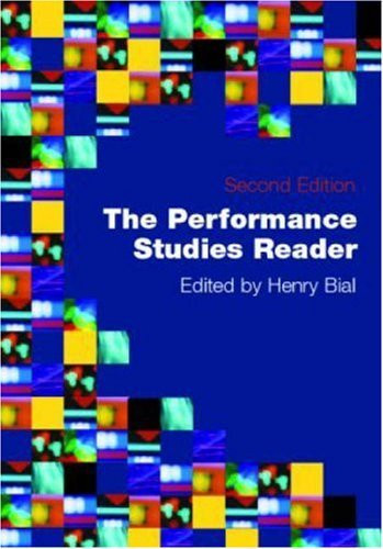 Performance Studies Reader
