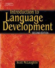 Introduction To Language Development