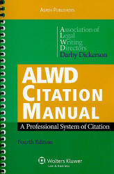 Alwd Citation Manual