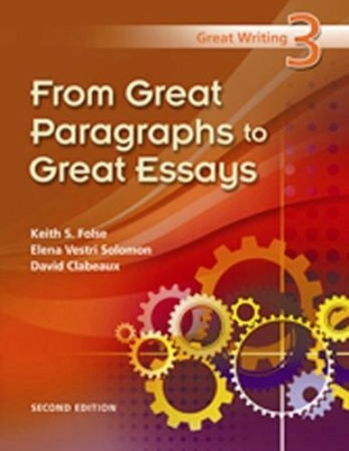 great writing 4 great essays folse You could also say something like,treating children like criminals creates a poor great writing 4 great essays folse environmentthere is little rational basis for.