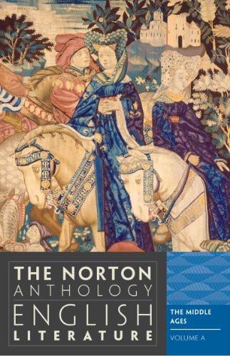 Norton Anthology Of English Literature Volume A