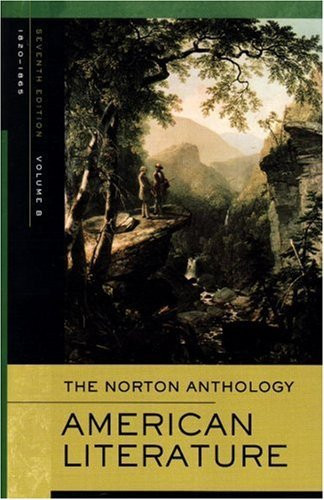 Norton Anthology Of American Literature Volume B