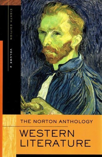Norton Anthology Of Western Literature Volume 2