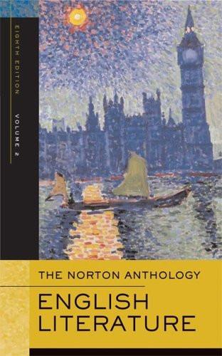 Norton Anthology Of English Literature Volume 2