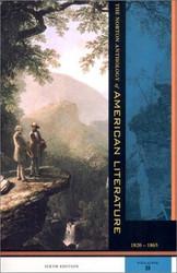 Norton Anthology Of American Literature Volume B