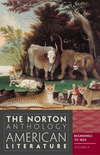 The Norton Anthology Of American Literature (Eighth Edition) (Vol A)