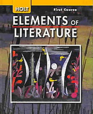 Elements Of Literature 1St Course Grade 7