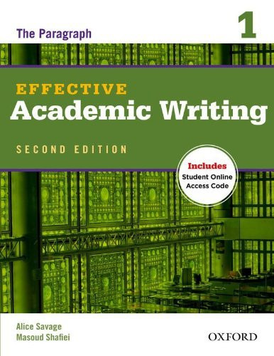 Effective Academic Writing: 2: The Short Essay