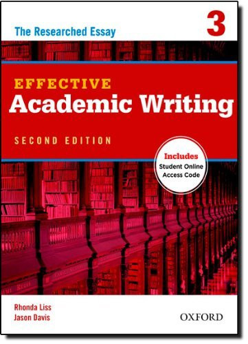 Effective Academic Writing Student Book 3