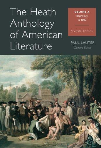 Heath Anthology Of American Literature Volume A