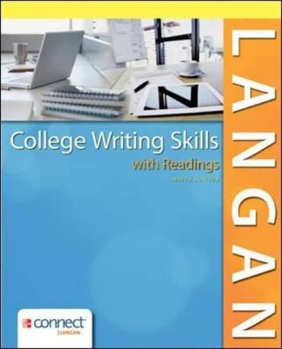 College Writing Skills