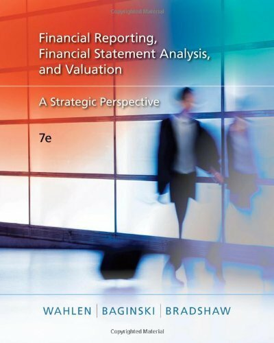 Financial Reporting Financial Statement Analysis And Valuation