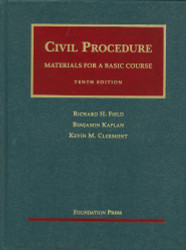 Civil Procedure Materials For A Basic Course 11Th