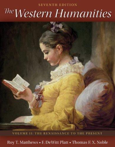 Western Humanities Volume 2