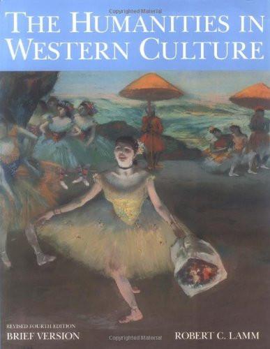 Humanities In Western Culture