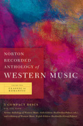 Norton Recorded Anthology of Western Music volume 2