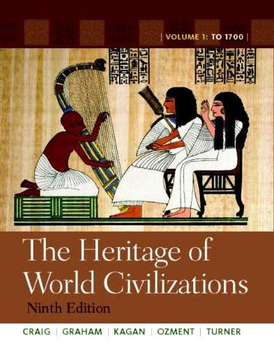 Heritage Of World Civilizations Volume 1