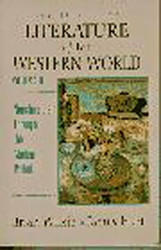 Literature Of The Western World Volume 2