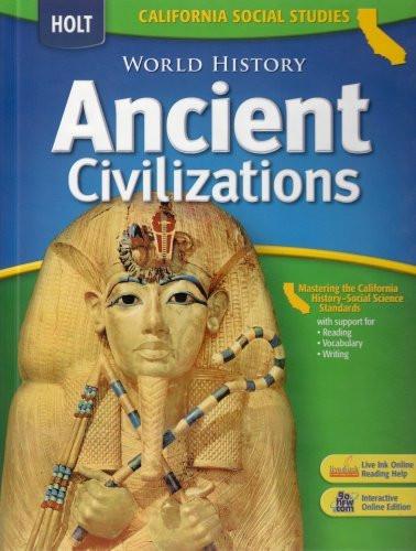 World History California Grades 6-8 Ancient Civilizations
