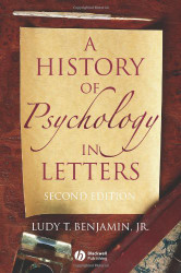 History Of Psychology In Letters