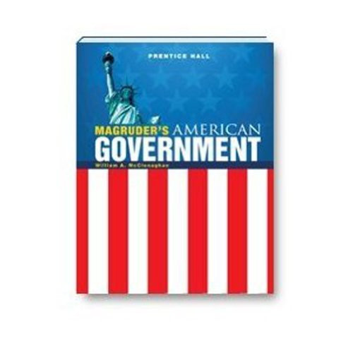 MAGRUDERS AMERICAN GOVERNMENT