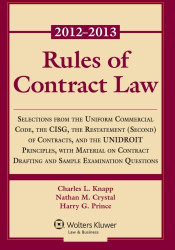 Rules Of Contract Law 2012