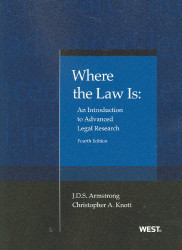 Where The Law Is