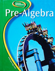 Glencoe Pre-Algebra by McGraw-Hill / Mcgraw-Hill/Glencoe