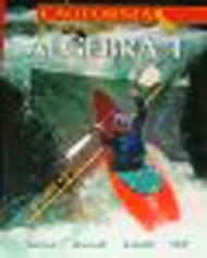 Holt Mcdougal Larson Algebra 1 California