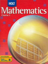 Mathematics Course 1