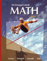 Mcdougal Littell Math Course 1