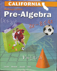 Prealgebra by Mcdougal Littel