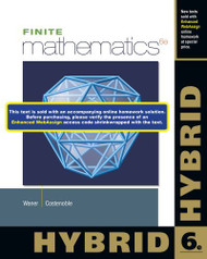 Finite Mathematics Hybrid