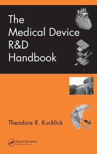 Medical Device Randd Handbook