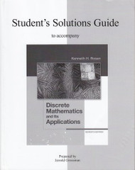 Student's Solutions Guide For Use With Discrete Mathematics And Its Applications