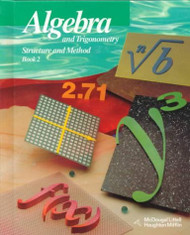 Algebra and Trigonometry Structure and Method Book 2