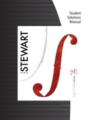 Student Solutions Manual (Chapters 1 11) For Stewart's Single Variable Calculus 7Th
