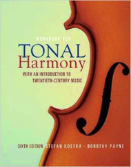 Workbook For Tonal Harmony With An Introduction To Twentieth-Century Music