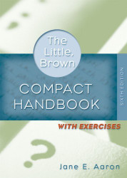 Little Brown Compact Handbook With Exercises