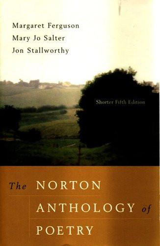 Norton Anthology Of Poetry Shorter