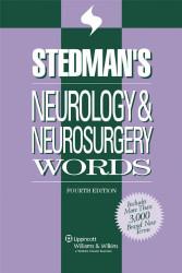 Stedman's Neurology and Neurosurgery Words