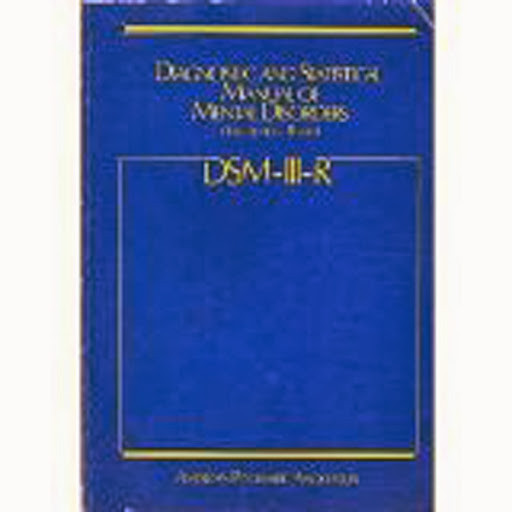 diagnostic and statistical manual of mental The diagnostic and statistical manual of mental disorders (dsm) is another  standard classification of mental disorders used by mental health professionals.