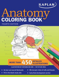 Kaplan Anatomy Coloring Book