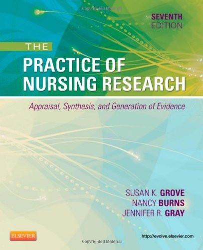 Practice Of Nursing Research