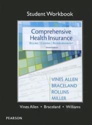 student Workbook for Comprehensive Health Insurance Billing Coding and Reimbursement