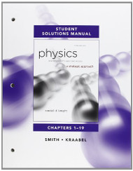 Student Solutions Manual For Physics For Scientists And Engineers Volume 1