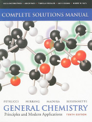 Solutions Manual for General Chemistry